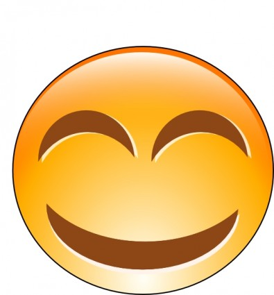 Laughing Smiley Clip Art Free Vector In Open Office Drawing Svg    Svg