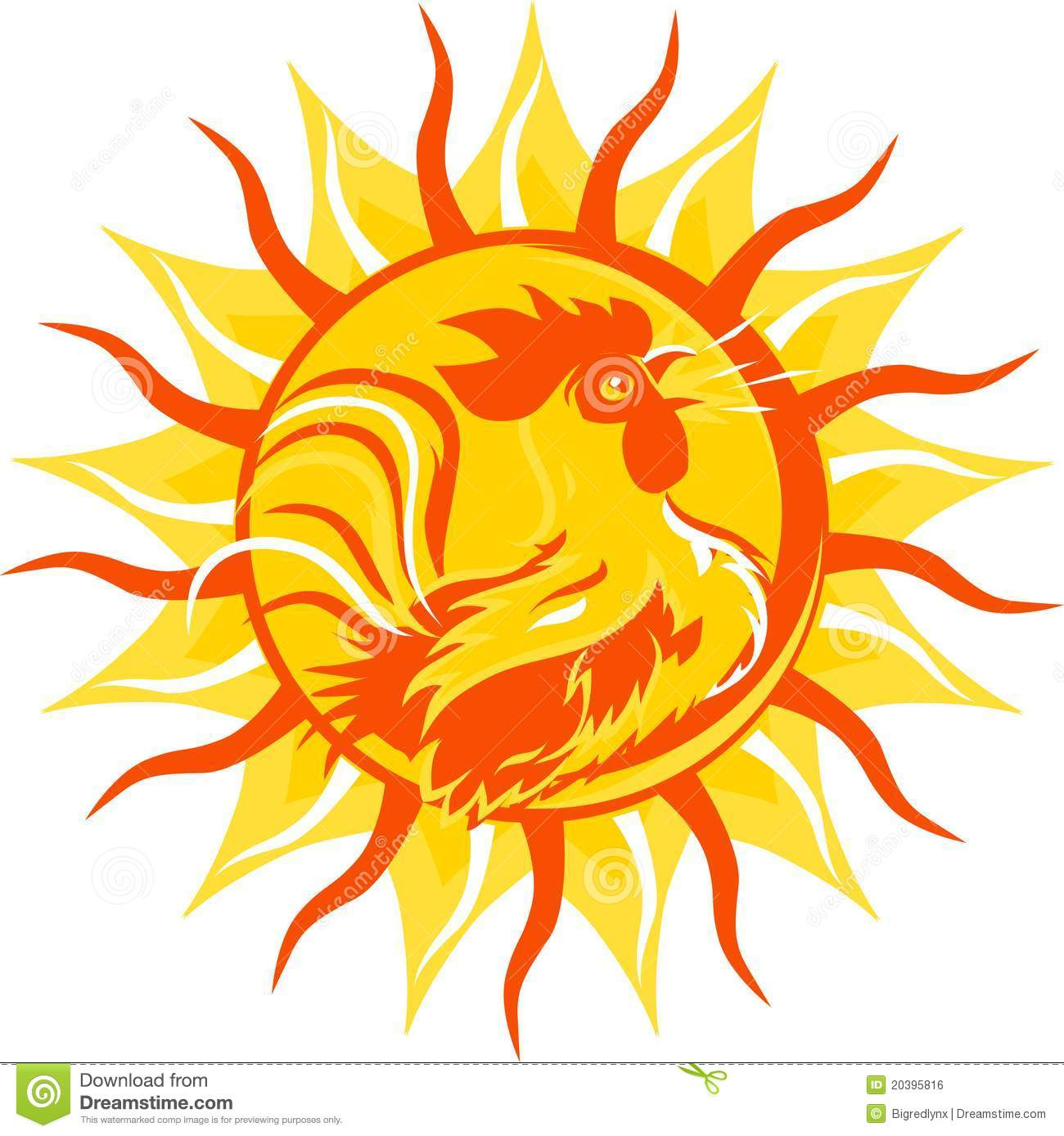 Morning Rooster Clipart - Clipart Kid