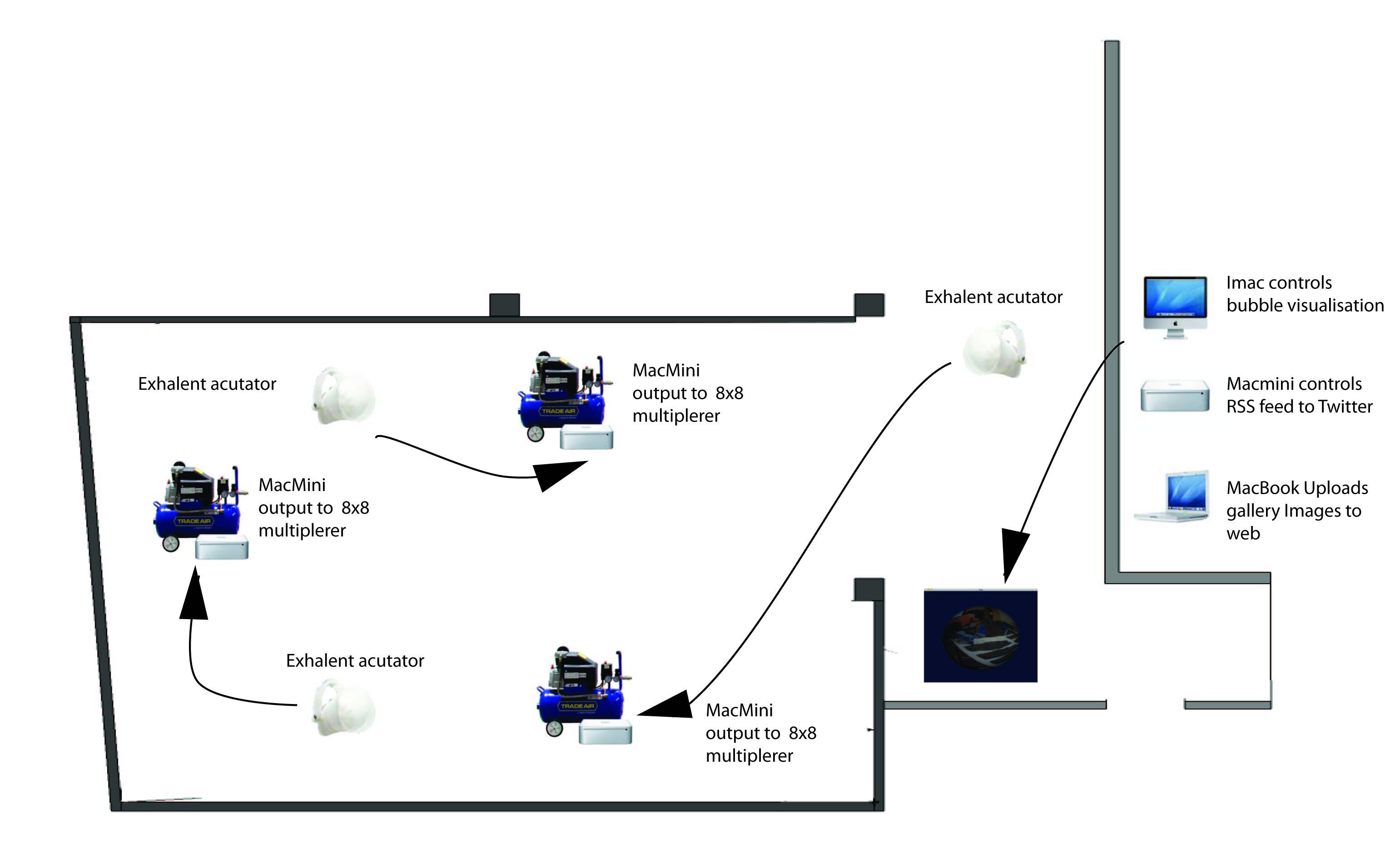 network diagram clipart