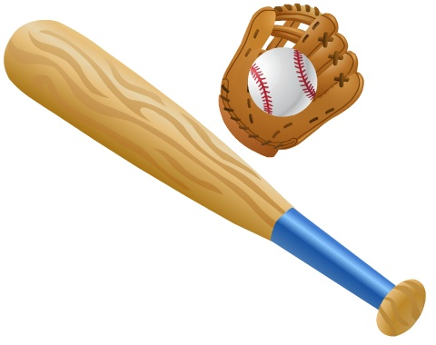 Clip Art Clipart Baseball Bat baseball bat and ball clipart kid picture of cliparts co