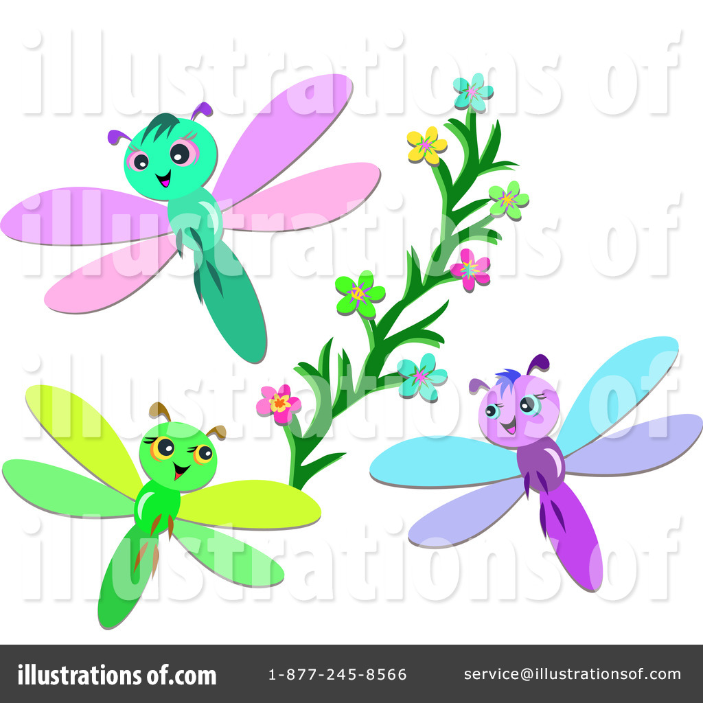 Rf  Dragonfly Clipart Illustration By Bpearth   Stock Sample  217136