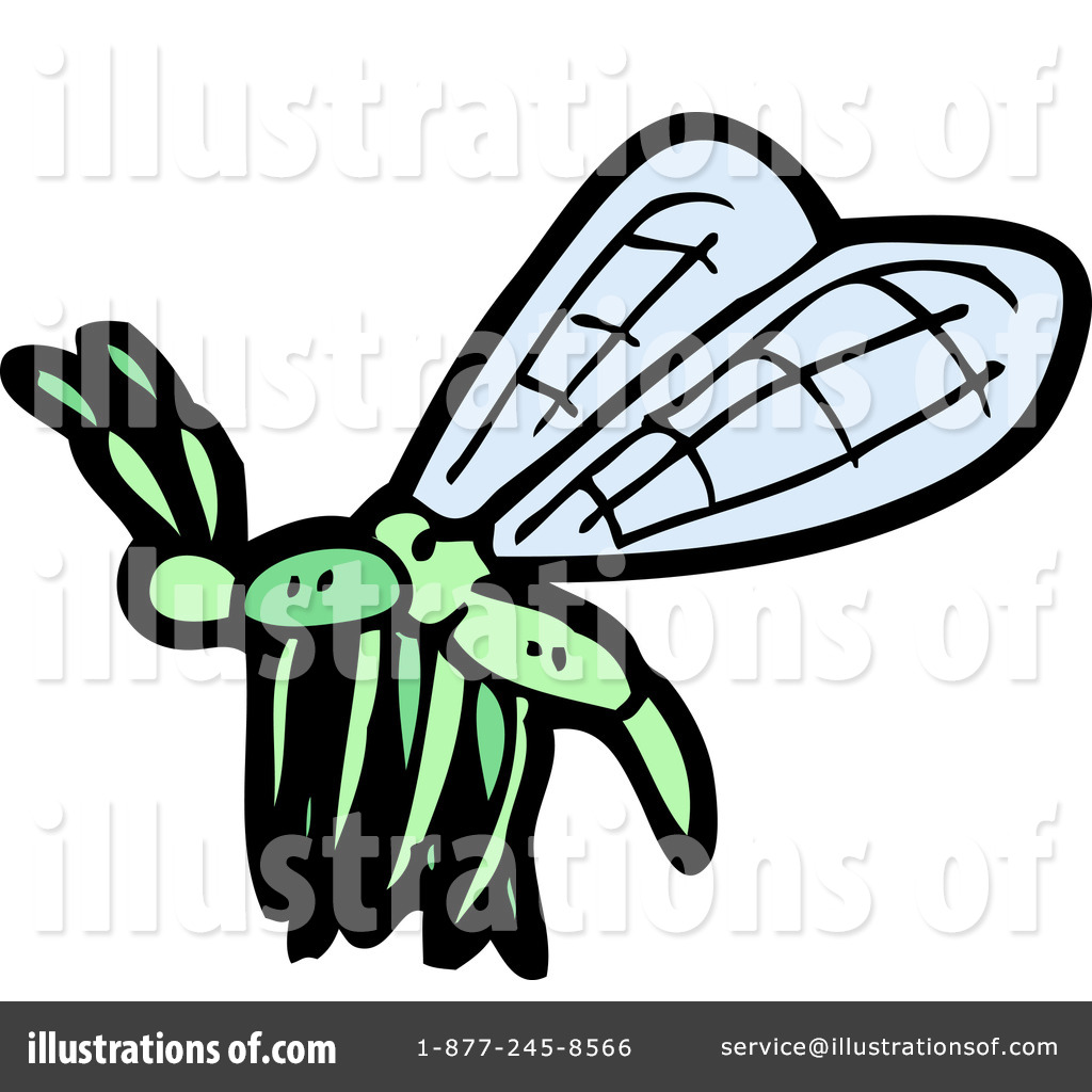 Royalty Free  Rf  Dragonfly Clipart Illustration By Lineartestpilot