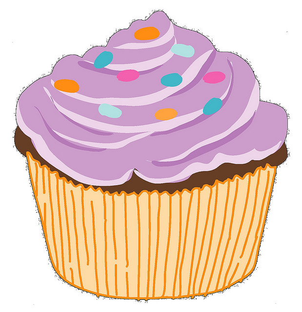 Vanilla Cupcake Clipart Images Of Cupcakes Clipart
