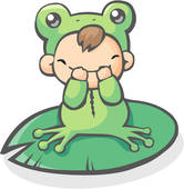Baby Frog Clipart Available As A Print