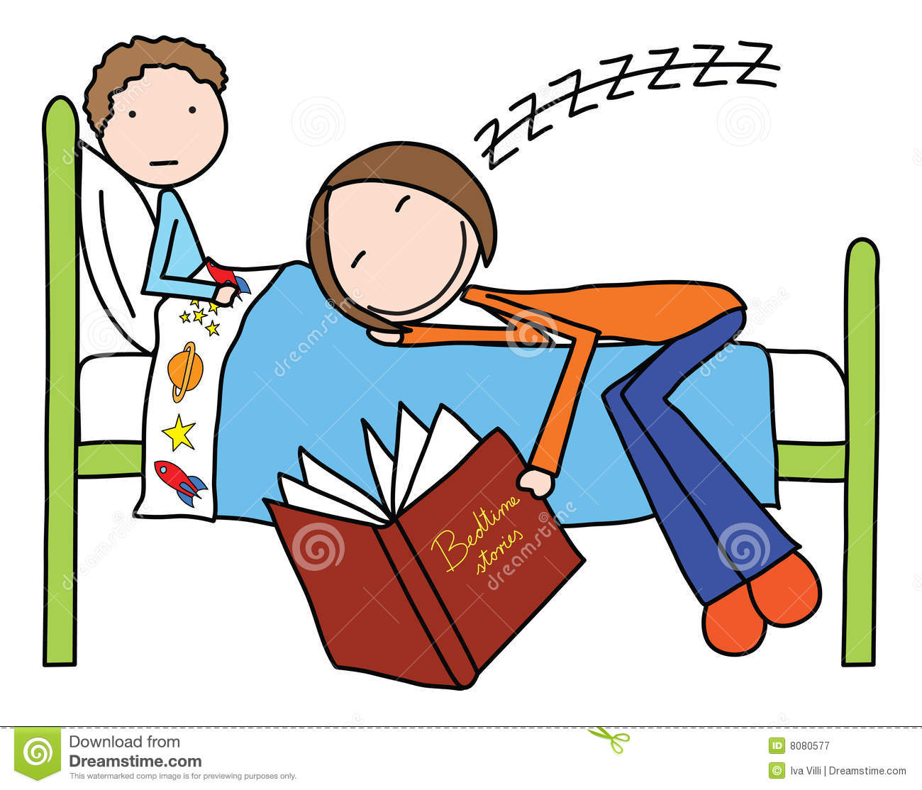 Bed time pajama clipart clipart suggest for Bed stories online