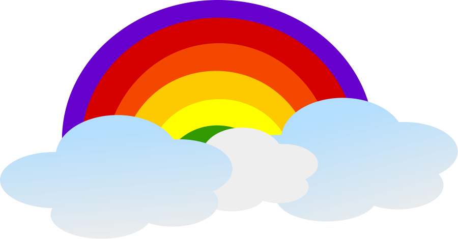 Cartoon Rainbow Images