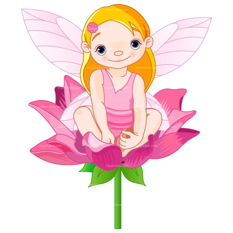 Clipart Baby Fairy   Royalty Free Vector Design