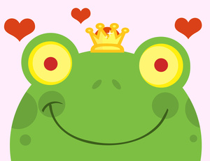 Cute Frog Clipart Clip Art Illustration Of A Cute Frog Wearing A Crown