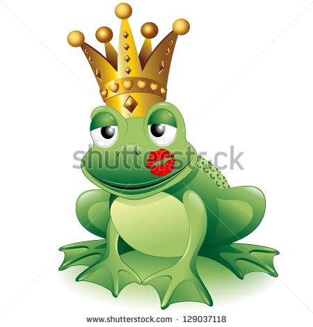 Cute Frog Prince Clipart Prince Frog Cartoon Clip Art
