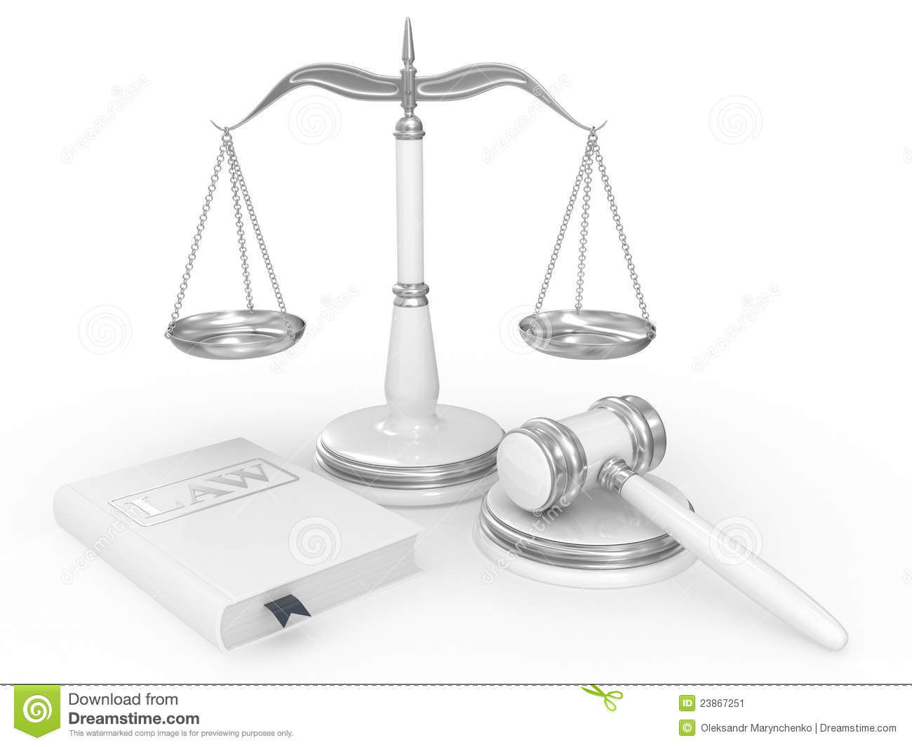 Legal Gavel Scales And Law Book Stock Image   Image  23867251