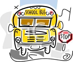 School Bus Stop Clipart - Clipart Suggest