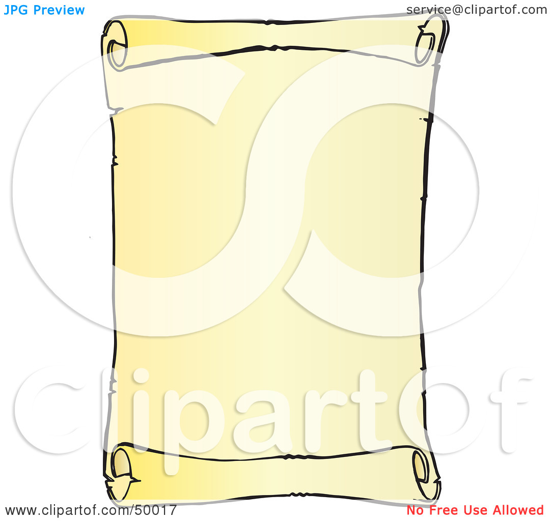 Vertical Scroll Clipart - Clipart Kid