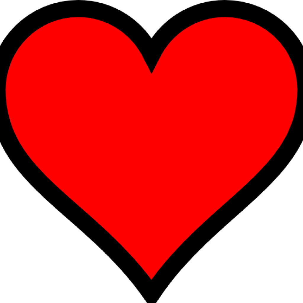 Very Small Red Heart With Transparent Background Clip Art ...