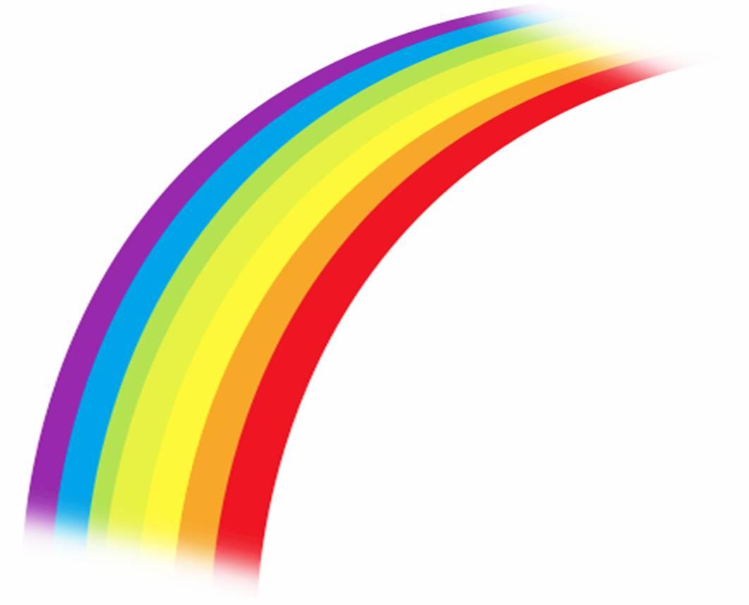 Cartoon Rainbow Clipart - Clipart Kid
