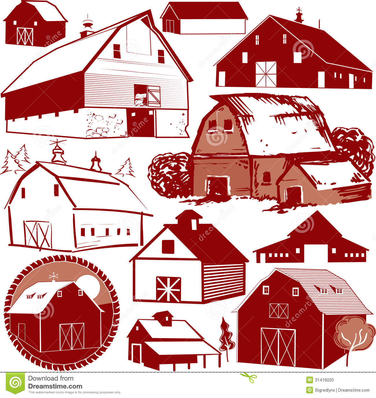 Barn Background Clipart Barn Collection