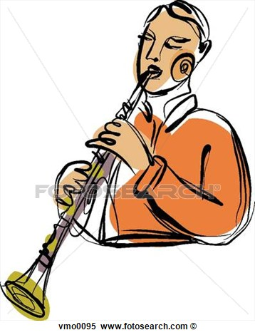 Clarinet Player Clipart Clarinet Player