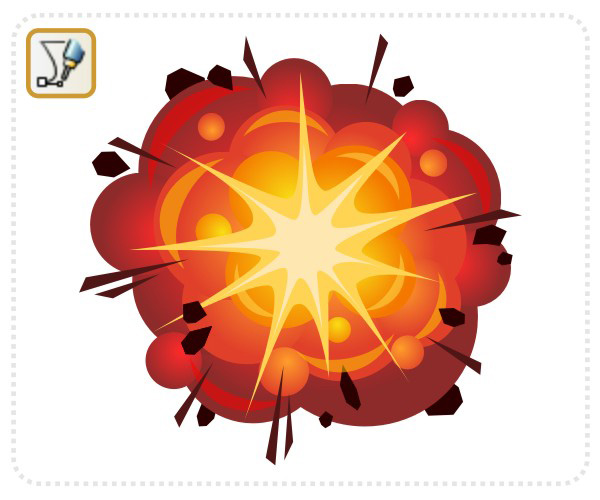 Animated Explosion Clipart - Clipart Kid