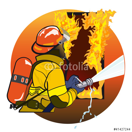 Firefighter Stock Image And Royalty Free Vector Files On Fotolia Com
