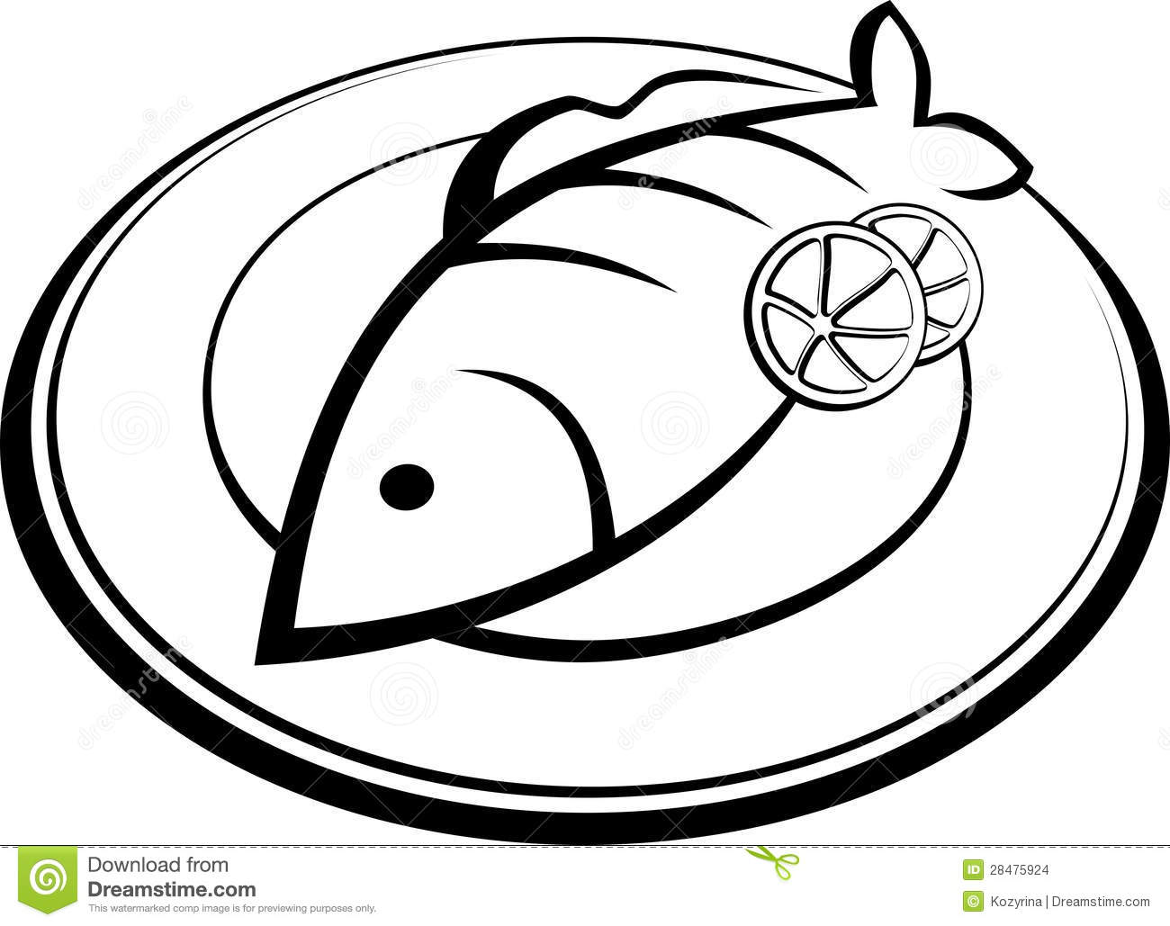 Fried Fish Clipart For Fish Dinner Clipart