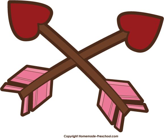 Valentine Arrow Clipart - Clipart Suggest