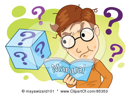 Manual Clipart Insurance Jargon