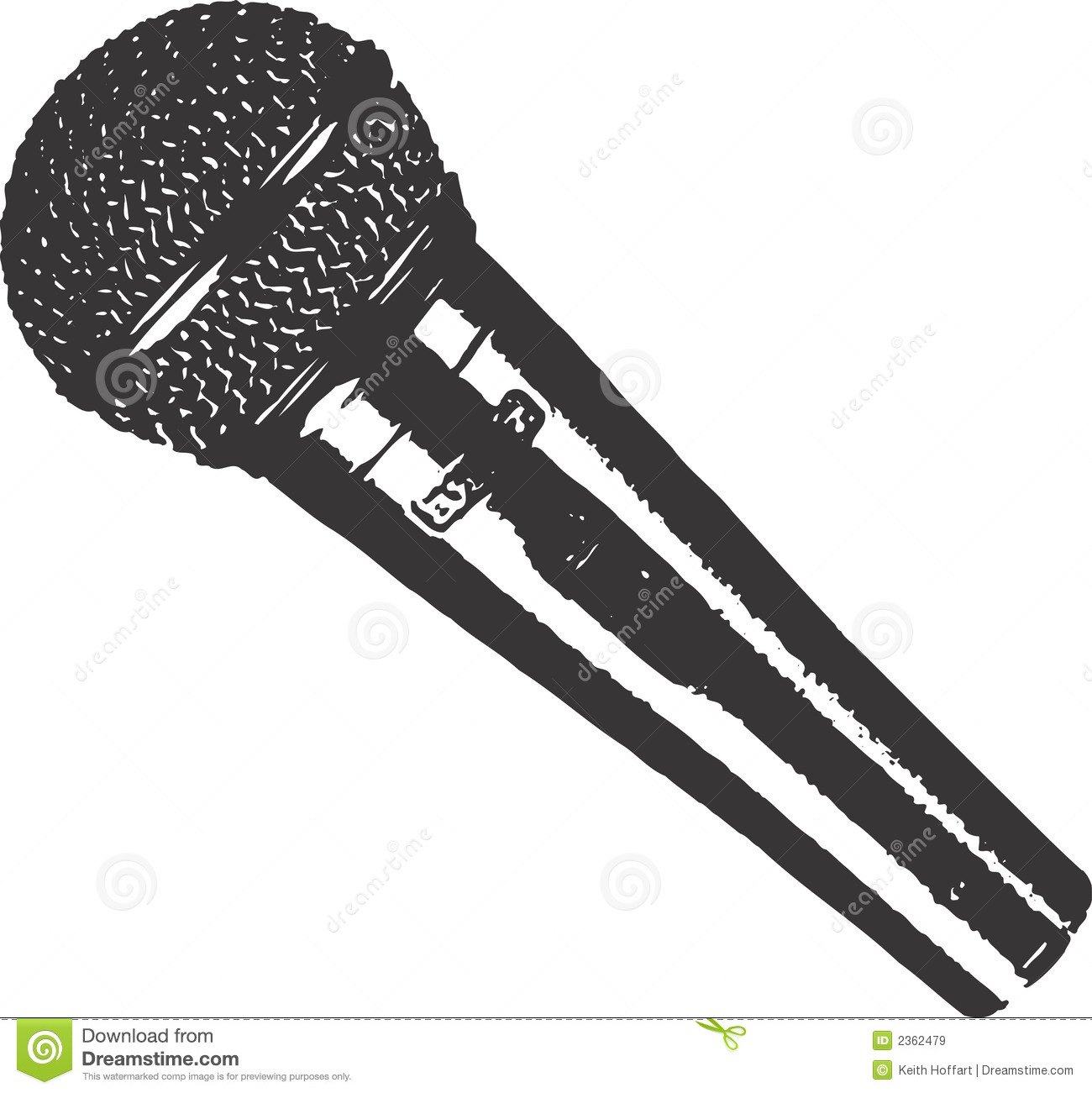 Microphone Clip Art Vector Design Illustration For Use In Web And