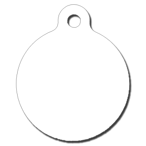 Pet Tag Circle Case Of 25