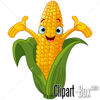 Related Corn   Cartoon Style Cliparts