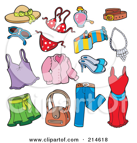spring clothing clipart clipart kid