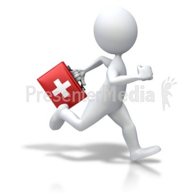 Stick Figure Running First Aid   Medical And Health   Great Clipart