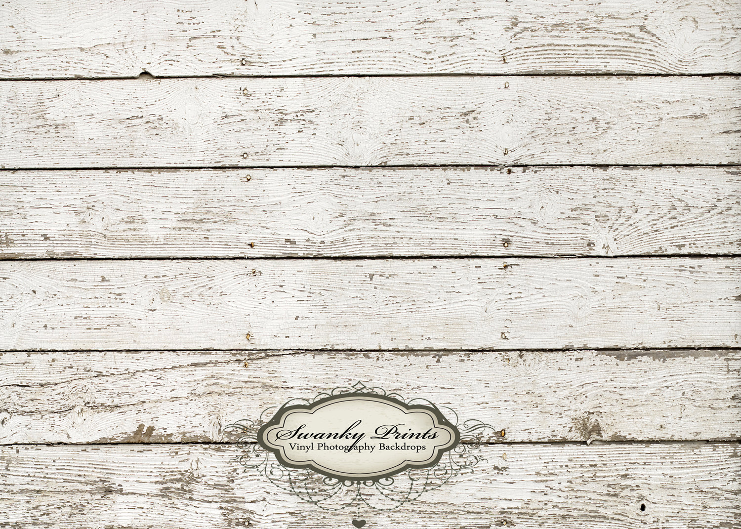 White Barn Wood Background Backdrop   By Swankyprints