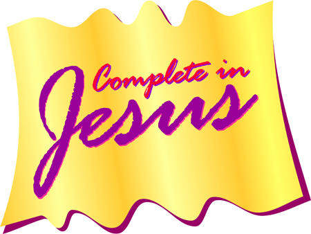Christian Clipart   Graphics  Complete In Jesus
