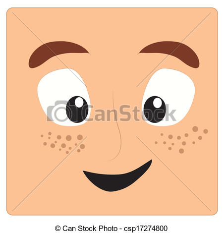 Freckles Clipart With Some Freckles In It