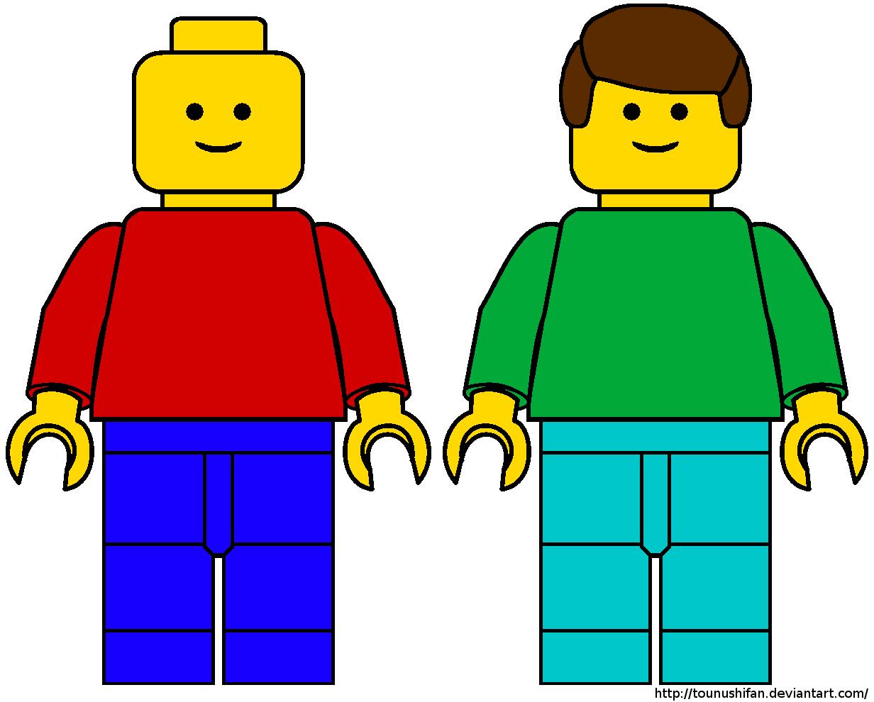 Lego Minifigure Clipart - Clipart Kid