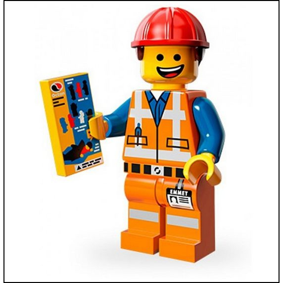 Lego The Movie Lego Minifigures The Lego Movie   03   Emmet