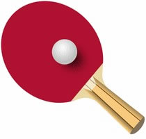Ping Pong Table Clipart - Clipart -  5.7KB