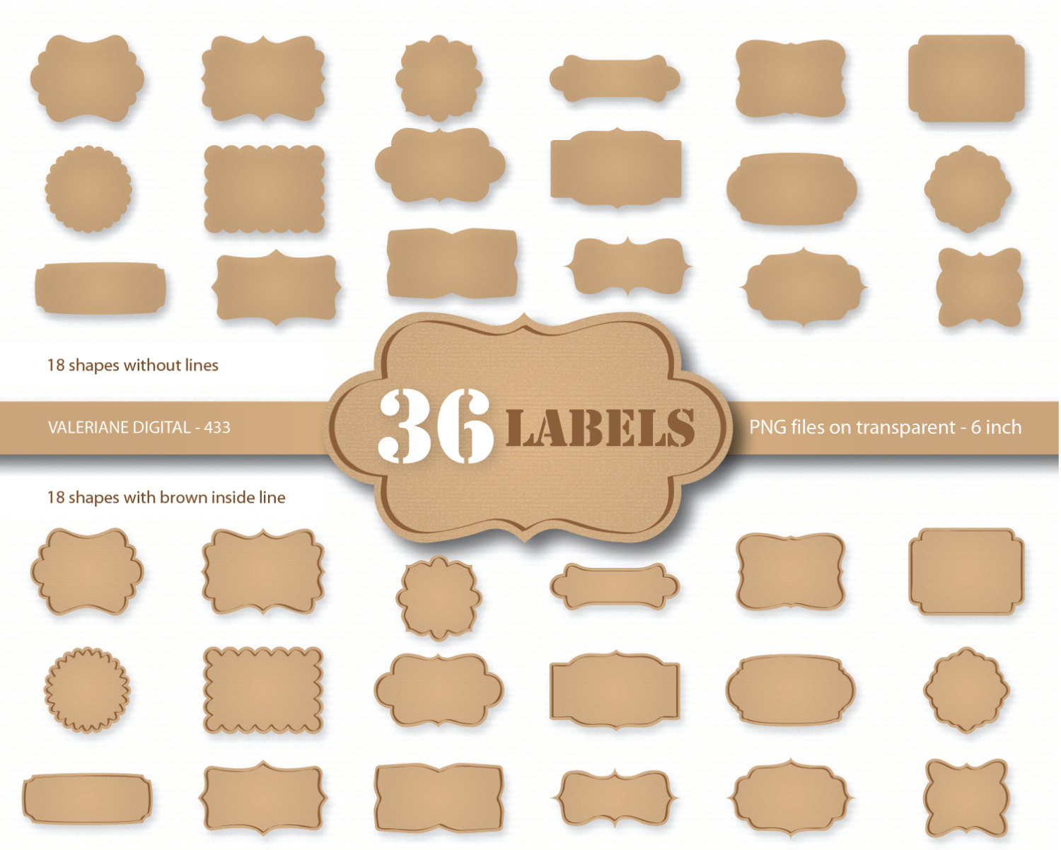 Templates For Return Labels Popular Items For Kraft Label On Etsy