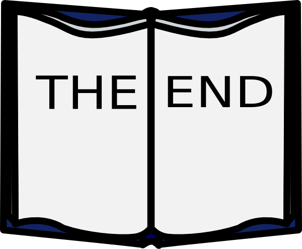 The End Clip Art At Clker Com   Vector Clip Art Online Royalty Free