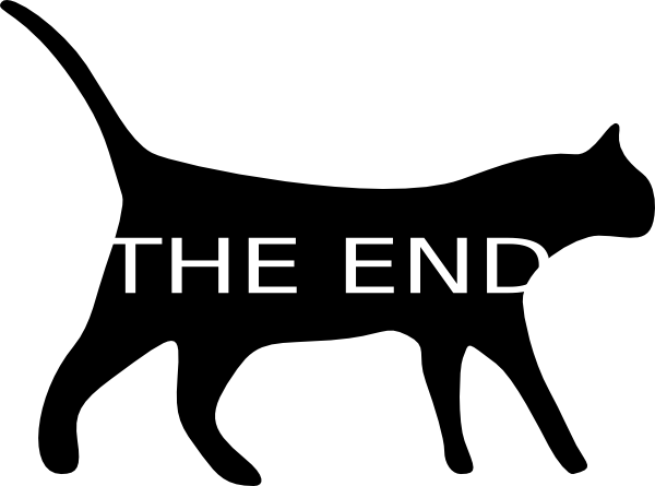 The End Sign Clip Art End Clipart