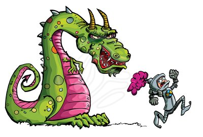 Medieval Dragon Clipart - Clipart Kid