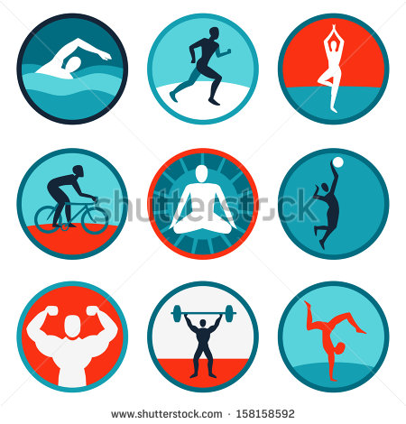 Windows And Android Free Downloads   Health And Fitness Icons Vector