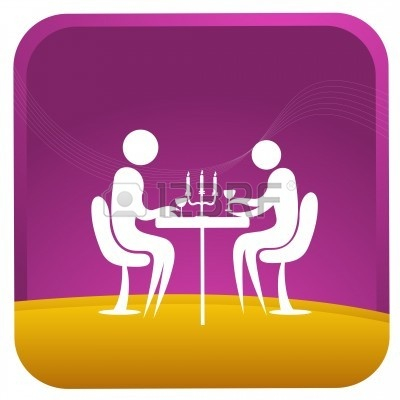 Candlelight Dinner Clipart