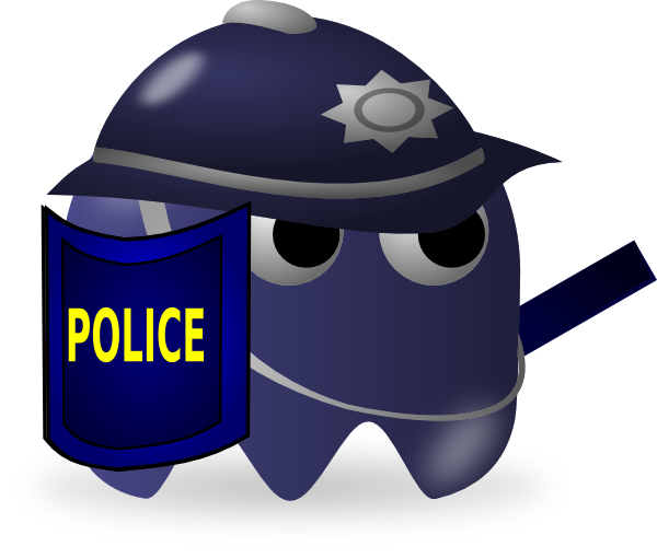 Cartoon Police Clip Art
