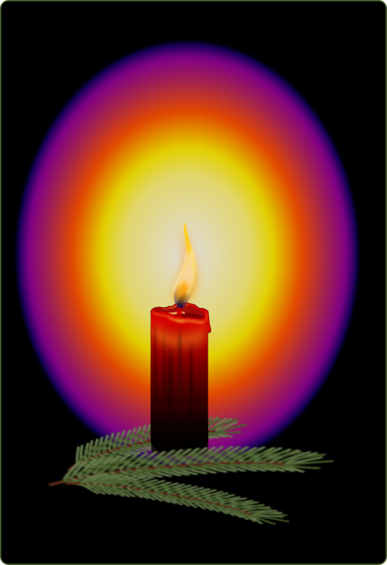 Clipart   Magic Candlelight