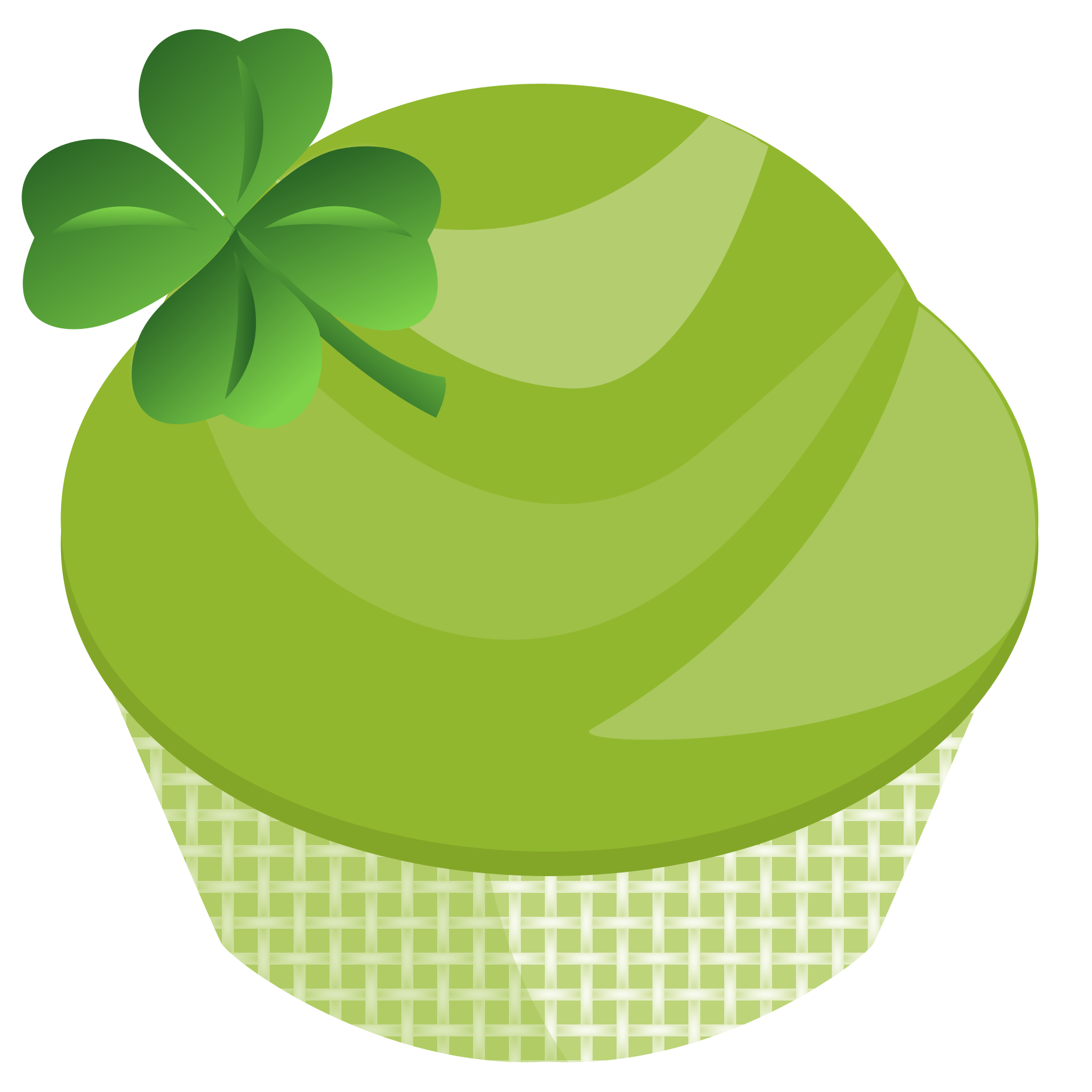 Clipart  St Patricks Day Cupcake Graphic  St  Patricks Day Clipart