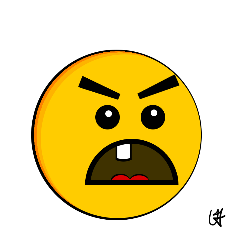 Face Cartoon Frownie Face Frowny Face Cartoon Red Frowny Face Clipart