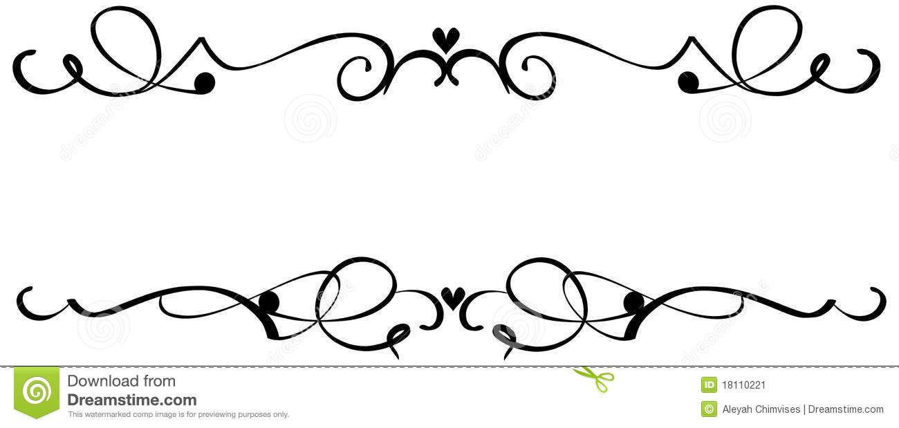 Fancy Line Designs Clipart   Cliparthut   Free Clipart