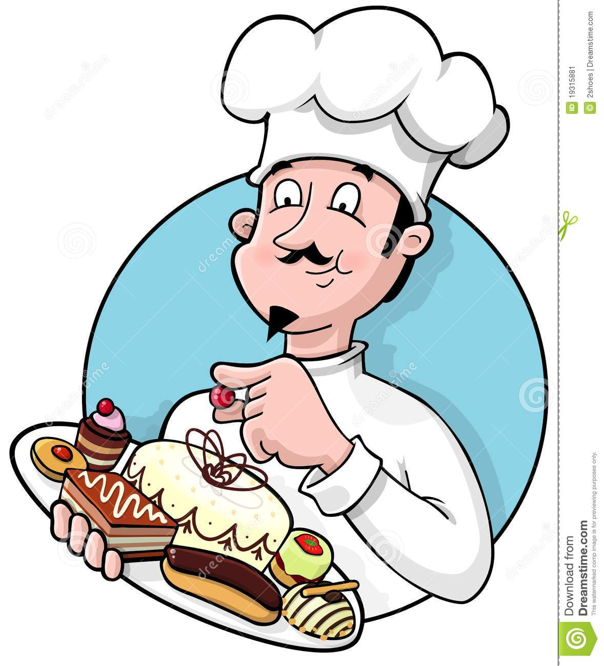 Pastry Chef Clipart - Clipart Suggest