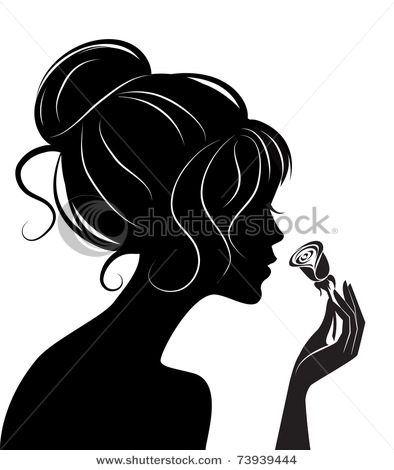 Women Hair Silhouette ...
