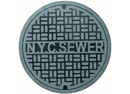 Rugs 1181 Ny New York City Sewer Floor Rug Is The Definition Of Urban